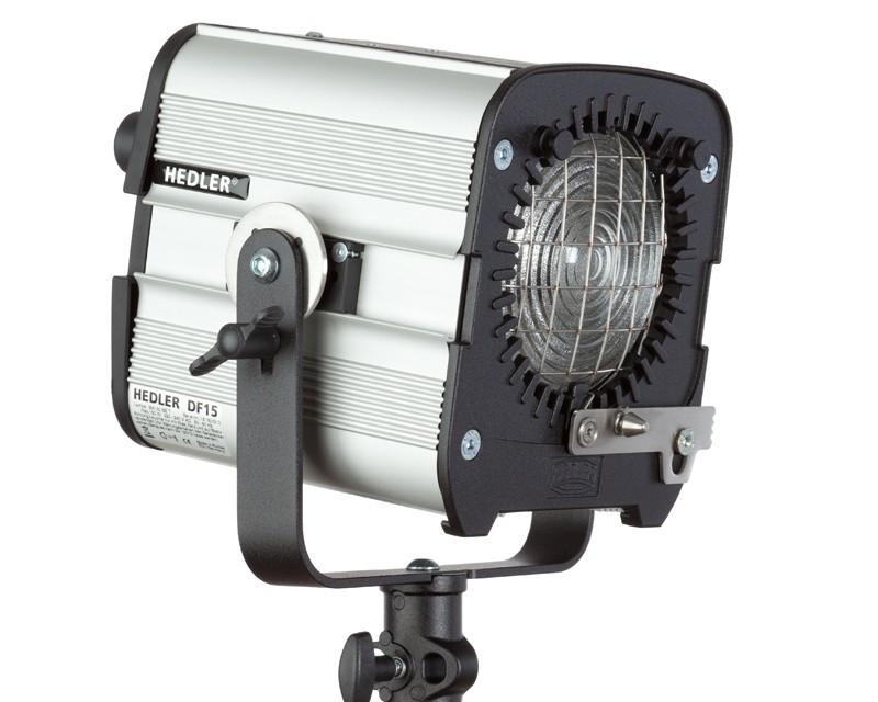Hedler DF 15 HMI Fresnel Focusing Spot Head