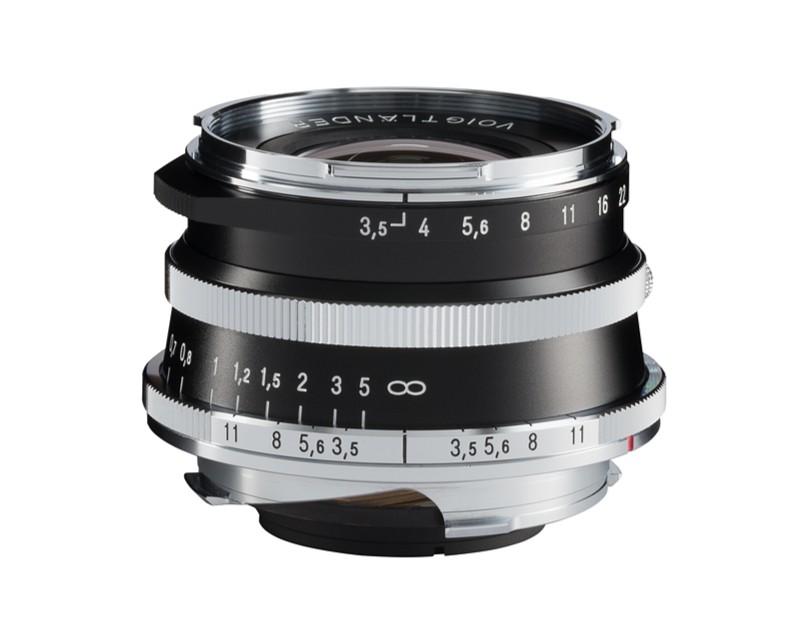 Voigtlander 21mm f3.5 VM ASPH Vintage Line Color-Skopar Silver Lens