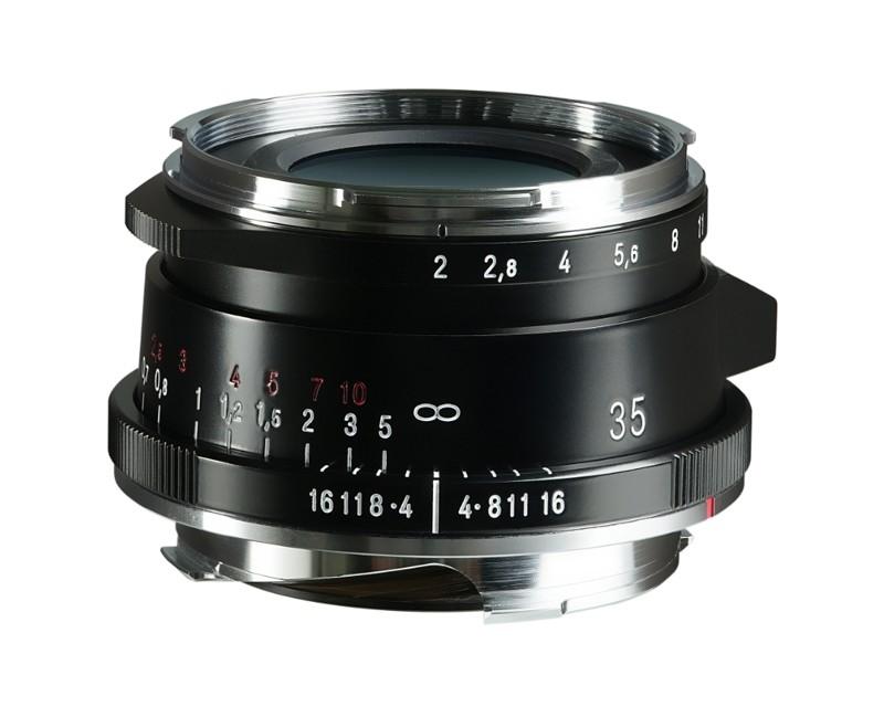 Voigtlander 35mm f2 VM ASPH ULTRON Vintage Line Type II Black Lens