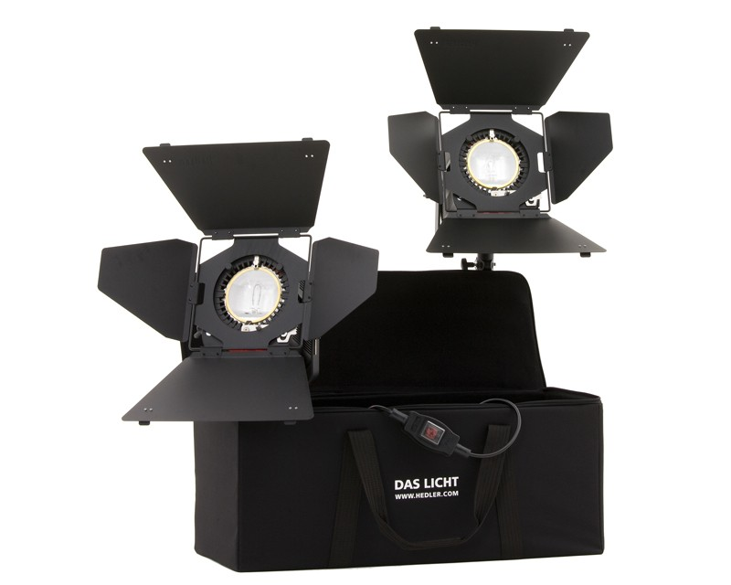 Hedler Video Floodlight Tungsten Kit