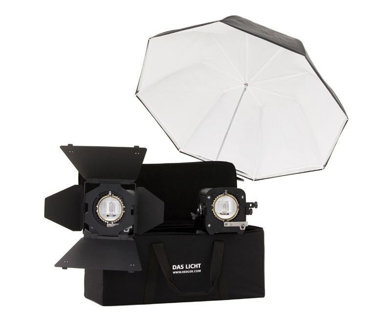 Hedler Video Portrait Tungsten Kit