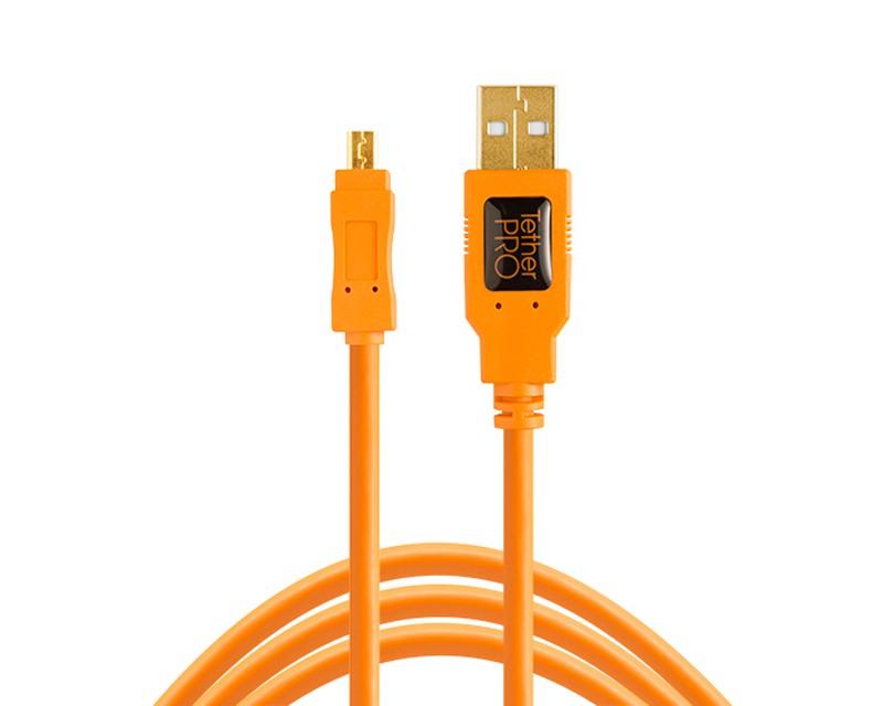 TetherTools TetherPro USB 2.0 A Male to Mini-B 8 Pin