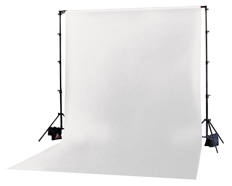 Photoflex White Solid Muslin Backdrop 3m x 6m