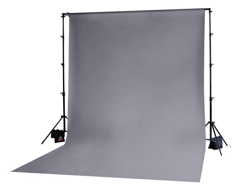 Photoflex Grey Solid Muslin Backdrop 3m x 3.65m