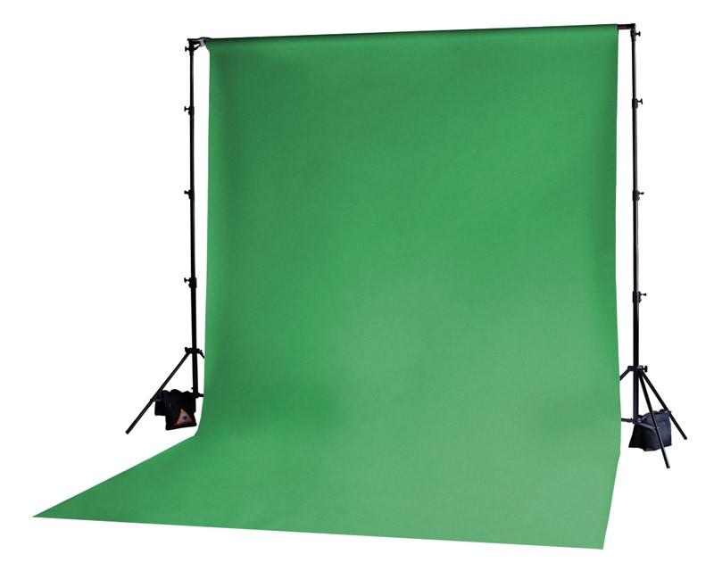 Photoflex Chromakey Green Solid Muslin Backdrop 3m x 6m