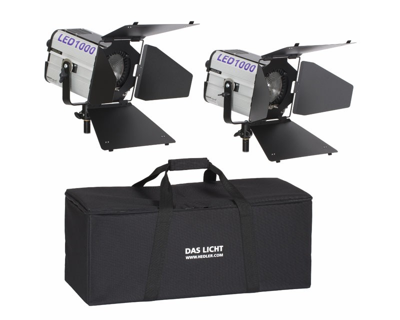 Hedler Profilux LED 1000 2 Head Lighting Kit