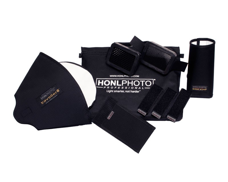 Honl Photo 9 Piece Advanced Flash Kit