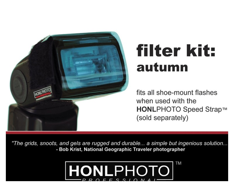 Honl Photo Autumn Filter Kit (Gel) Kit