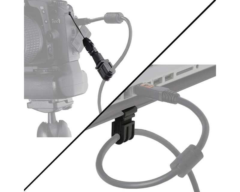 TetherTools JS095 JerkStopper Tethering Kit (Clip-On Cable Support)
