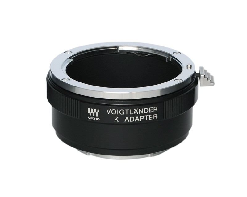 Voigtlander Pentax K to Micro Four Thirds Lens Adaptor