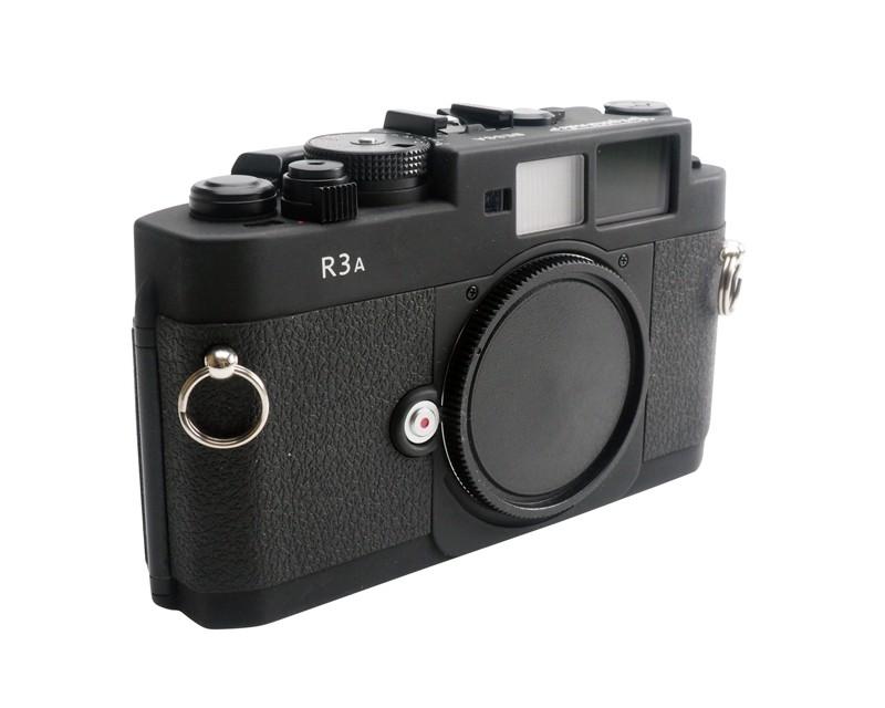 Voigtlander Bessa R3A Rangefinder Camera Body Black