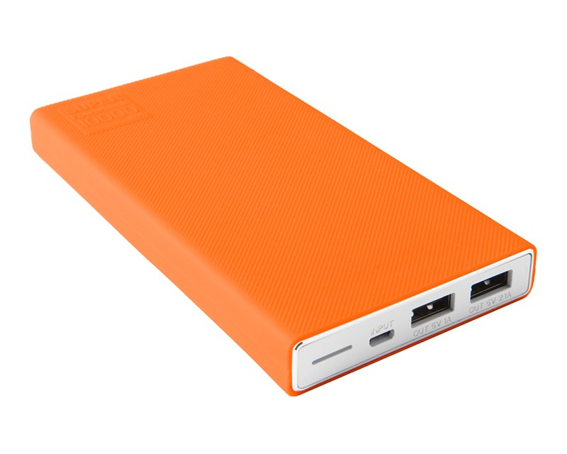 TetherTools RSS10-ORG Silicone Sleeve for Rock Solid External Battery Pack - Orange