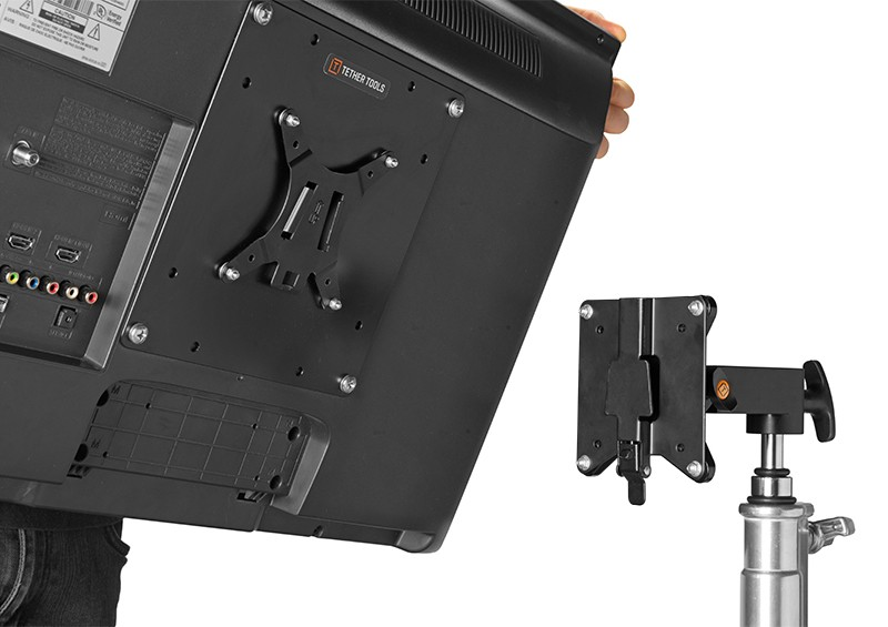 Rock Solid VESA Monitor Quick Release System