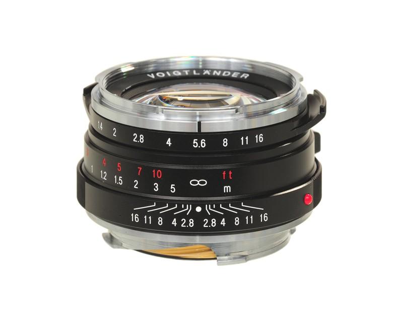 Voigtlander 40mm f1.4 VM Nokton-Classic SC Lens