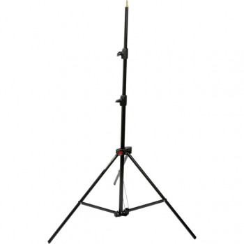 Hedler 2.37m Air-Cushioned Light Stand (Black)
