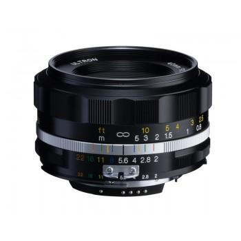 Voigtlander 40mm f2 SL II-S Nokton Nikon Fit Black Lens