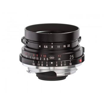 Voigtlander 25mm f4 VM Color Skopar Pancake Lens