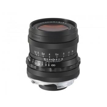 Voigtlander 35mm f1.7 VM ASPH Vintage Line Ultron Black Lens