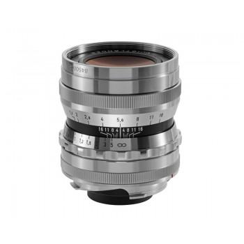 Voigtlander 35mm f1.7 VM ASPH Vintage Line Ultron Silver Lens