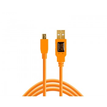 TetherTools CU5407 TetherPro USB 2.0 A Male to Mini-B 5 Pin 6' (1.8m) Cable