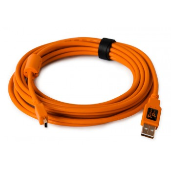 Tether Tools TetherPro USB 2.0 Male to Mini-B 5pin 4.6m Cable