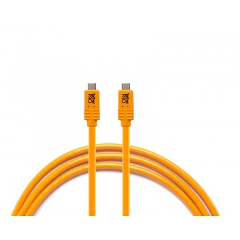 TetherTools CUCP15-ORG TetherPro USB-C to USB-C for Phase One, 15' (4.6m) Orange Cable