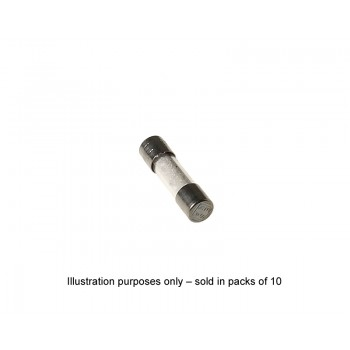 Hedler Spare Fuse F6.3A 1000W (10 Pieces)