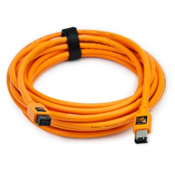 Tether Tools TetherPro FireWire 400/800 9 Pin to 6 Pin 4.6m Cable