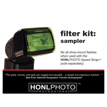 Honl Photo Sampler Filter (Gel) Kit