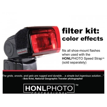 Honl Photo Colour Effects Kit (Gel) Kit