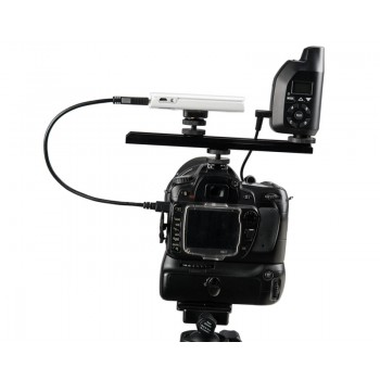 TetherTools RS317BLKKT CamRanger Camera Mounting Kit w/ USB 3.0 Mini-B 5 Pin 1' (30cm) Black