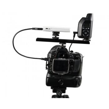 TetherTools RS317BLKKT CamRanger Camera Mounting Kit w/ USB 3.0 Mini-B 5 Pin 1' (30cm) Black