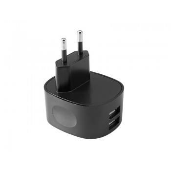 TetherTools RSUWA-EU Rock Solid Dual USB to AC Wall Adapter (EU Standard)