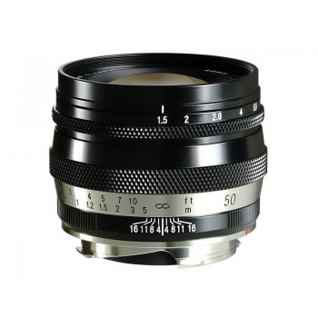 Voigtlander 50mm f1.5 VM Mount Heliar Classic Lens