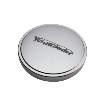 Voigtlander 50mm Metal Push-On Lens Cap Silver