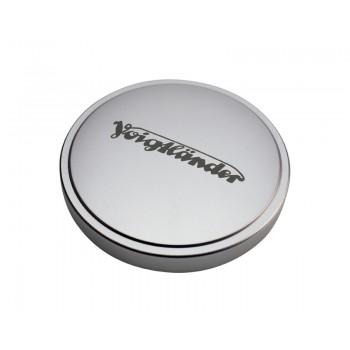 Voigtlander 50mm Metal Push-On Lens Cap Silver