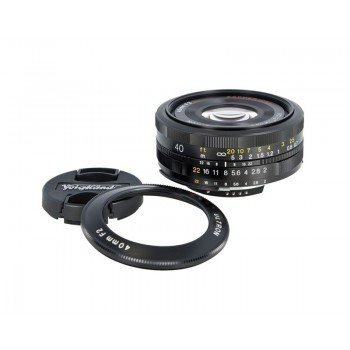Voigtlander 40mm f2 Nikon Fit Ultron Lens