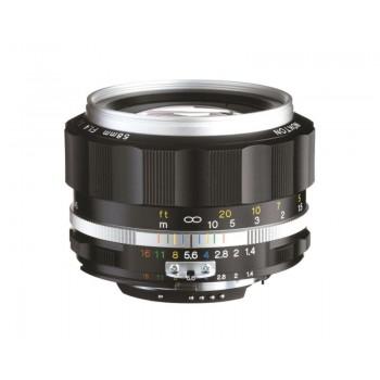 Voigtlander 58mm f1.4 SL II-S Nokton Nikon Fit Silver Lens