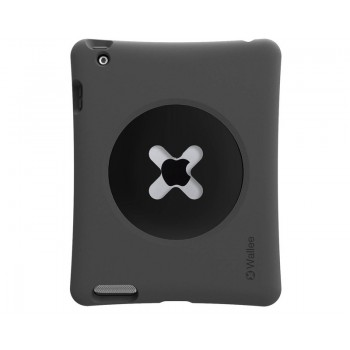 TetherTools WPR1BLK Wallee Pro Bumper for iPad 2, 3 & 4 Black